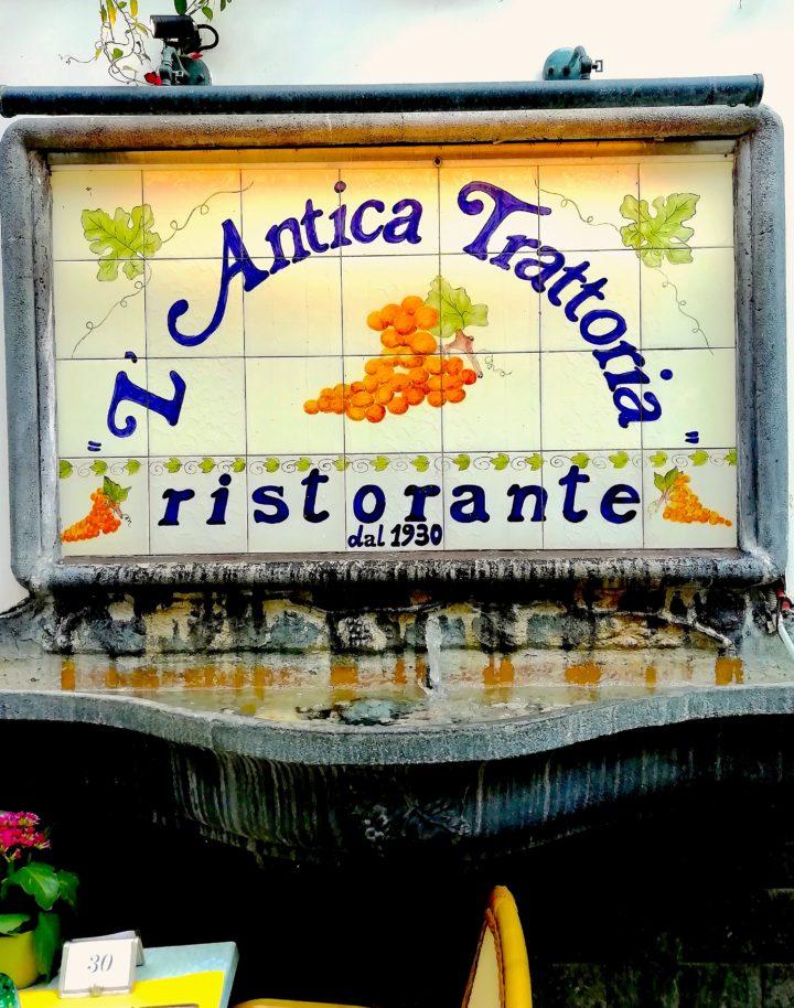 Best Sorrento Tasting Menu L Antica Trattoria Our Edible